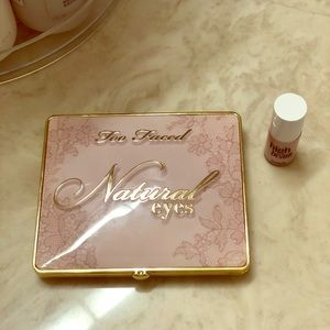 Too Faced Natural Eyes pallet and highlighter